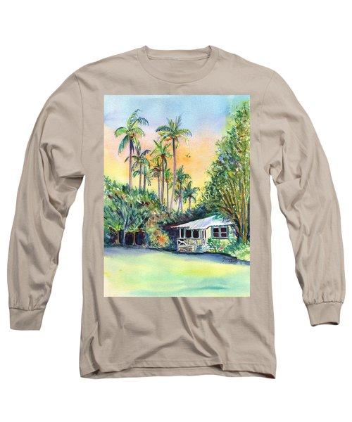 Kauai West Side Cottage Long Sleeve T-Shirt