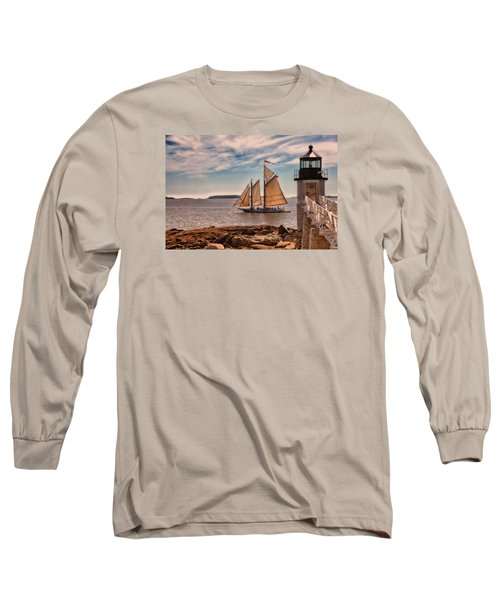 Keeping Vessels Safe Long Sleeve T-Shirt by Karol Livote
