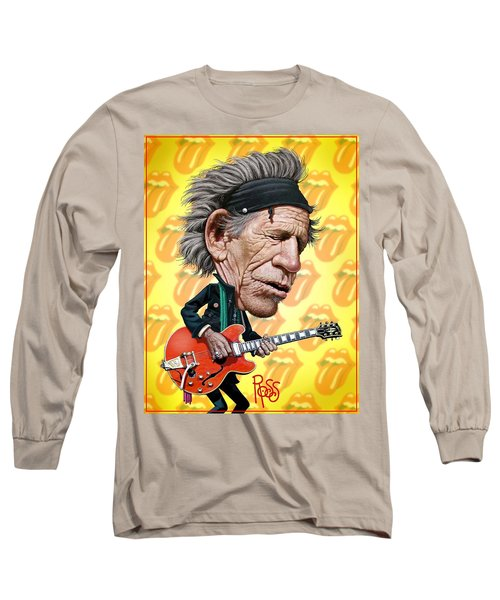 Keith Richards Long Sleeve T-Shirt