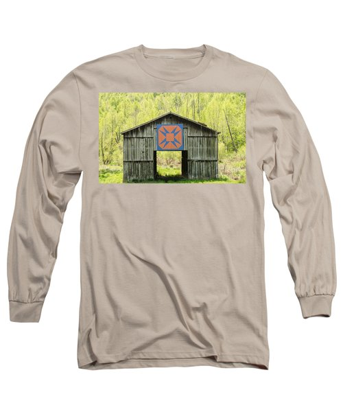 Kentucky Barn Quilt - Happy Hunting Ground Long Sleeve T-Shirt