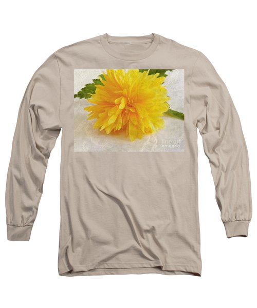 Kerria Japonica Long Sleeve T-Shirt