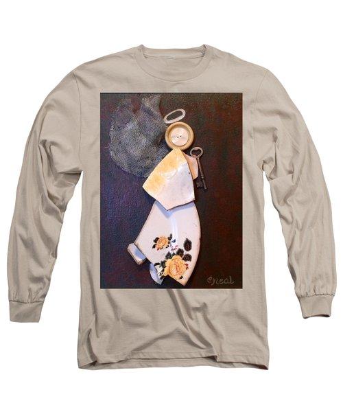 Key Angel Long Sleeve T-Shirt