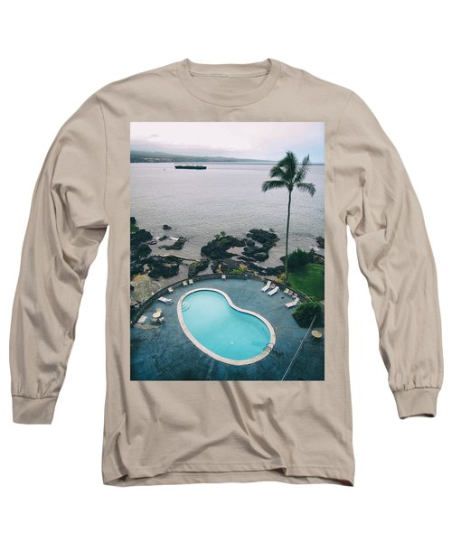 Kidney Pool In Paradise Long Sleeve T-Shirt