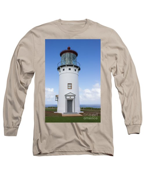Long Sleeve T-Shirt featuring the photograph Kilauea Lighthouse by Suzanne Luft