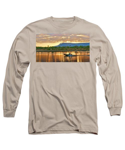 Long Sleeve T-Shirt featuring the photograph Kimberley Dawning by Holly Kempe