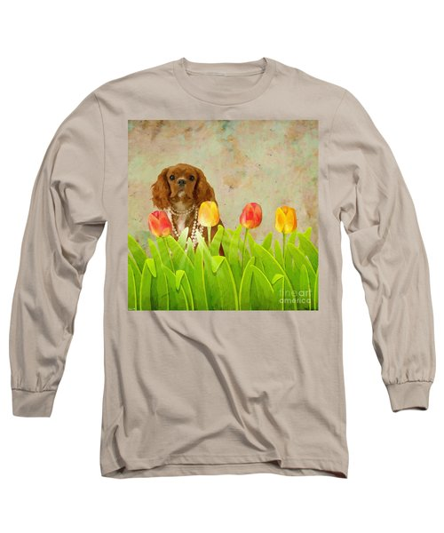 King Charles Cavalier Spaniel Long Sleeve T-Shirt
