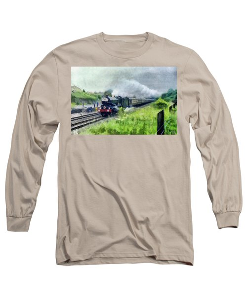 'king George V' Locomotive Long Sleeve T-Shirt