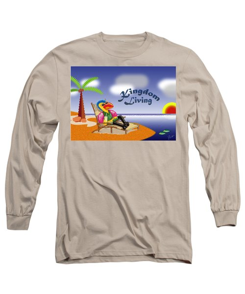 Kingdom Living Long Sleeve T-Shirt by Jerry Ruffin