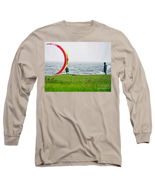 Kite Boarder Long Sleeve T-Shirt
