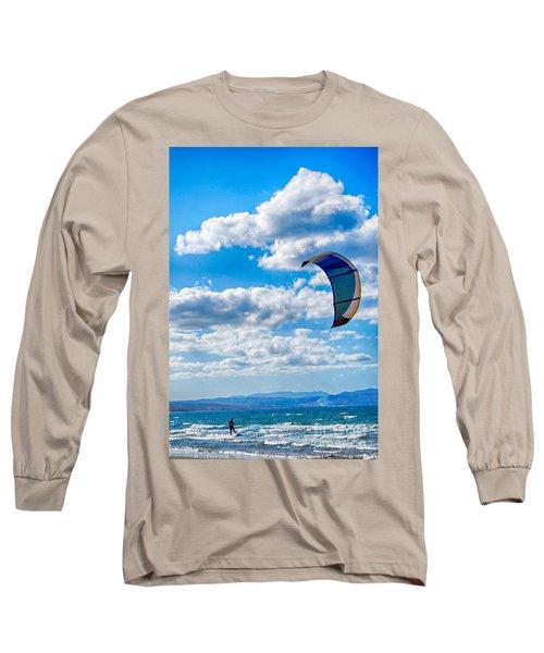 Kitesurfer Long Sleeve T-Shirt