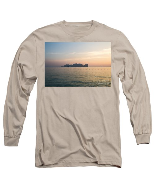 Ko Phi Phi Leh Island At Sunset - Thailand Long Sleeve T-Shirt