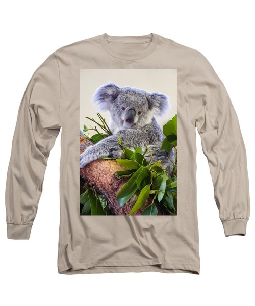 Koala On Top Of A Tree Long Sleeve T-Shirt