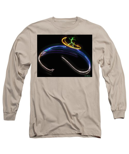 Koko Catches A Wave Long Sleeve T-Shirt by RC DeWinter