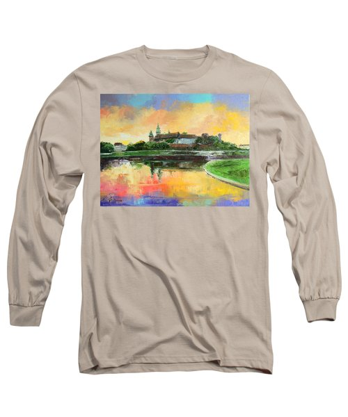 Krakow - Wawel Castle Long Sleeve T-Shirt
