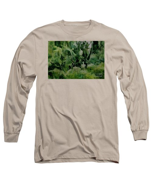 Kudzombies Long Sleeve T-Shirt by Elizabeth Carr