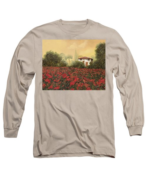 La Casa E I Papaveri Long Sleeve T-Shirt