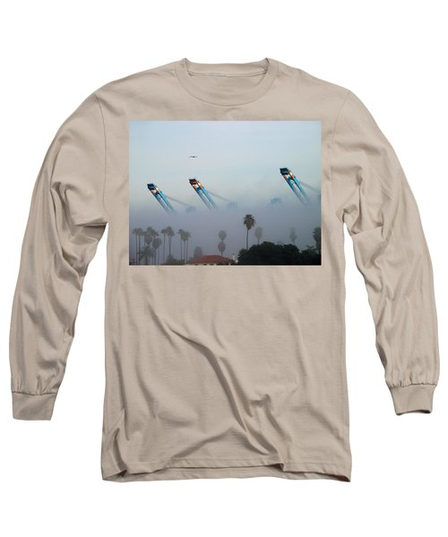 La Harbor Never Sleeps Long Sleeve T-Shirt