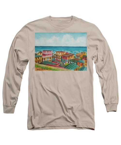 La Perla San Juan Pr Long Sleeve T-Shirt by Frank Hunter