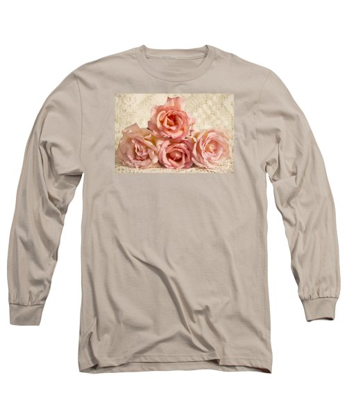 Lace And Roses Long Sleeve T-Shirt