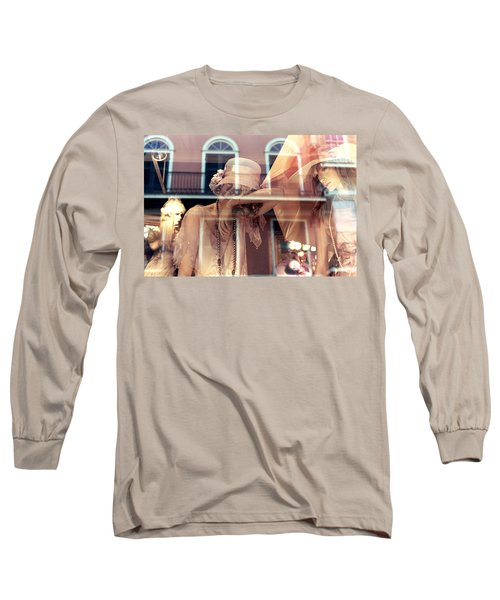 Ladies Of The French Quarter Long Sleeve T-Shirt by Nadalyn Larsen