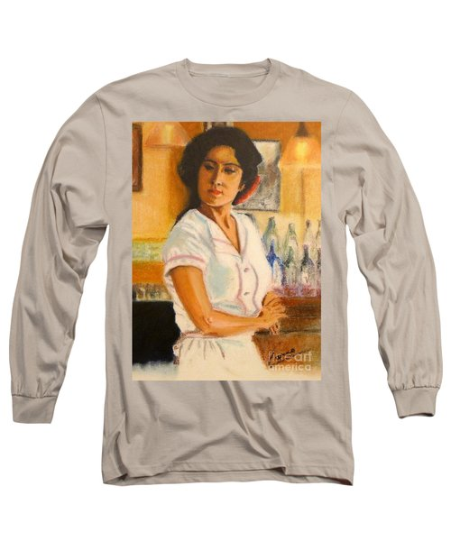 Lady In Waiting Long Sleeve T-Shirt