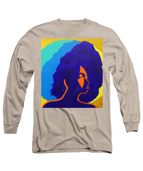 Lady Indigo Long Sleeve T-Shirt