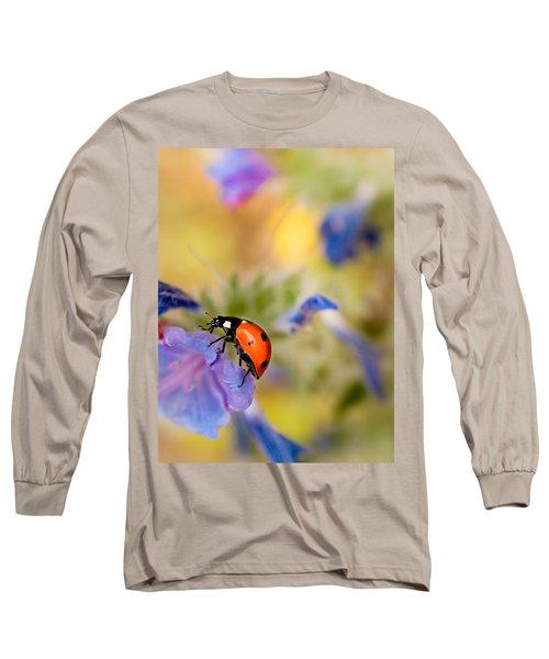 Ladybird Long Sleeve T-Shirt by Meir Ezrachi