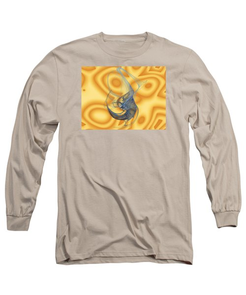 Long Sleeve T-Shirt featuring the digital art Lagoon by Jeff Iverson