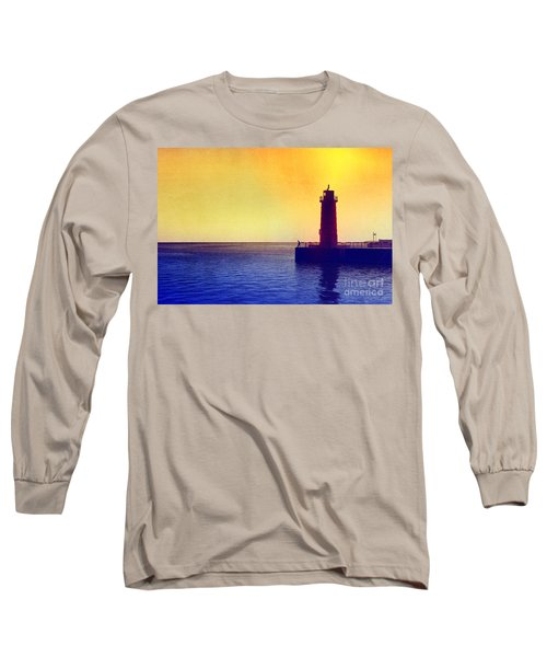 Lake Michigan Long Sleeve T-Shirt by Erika Weber