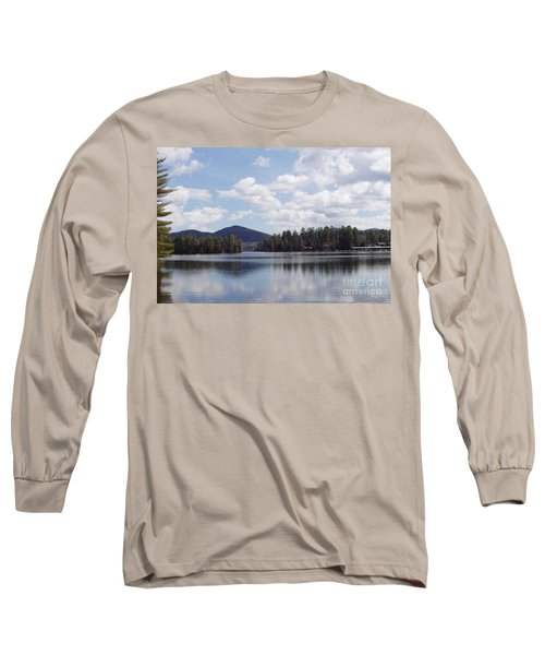 Long Sleeve T-Shirt featuring the photograph Lake Placid by John Telfer