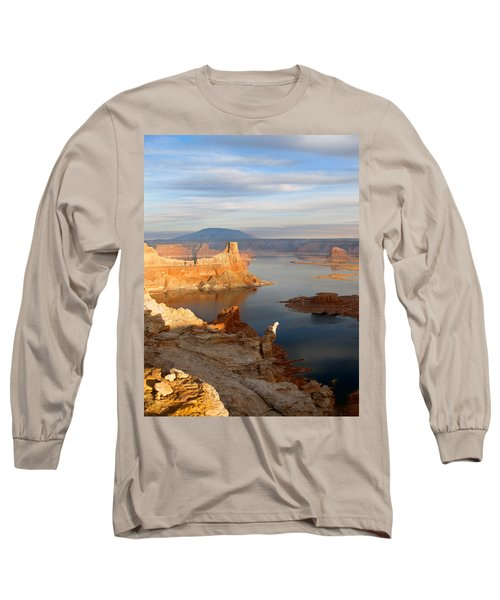 Lake Powell From Alstrum Pt 12 Long Sleeve T-Shirt