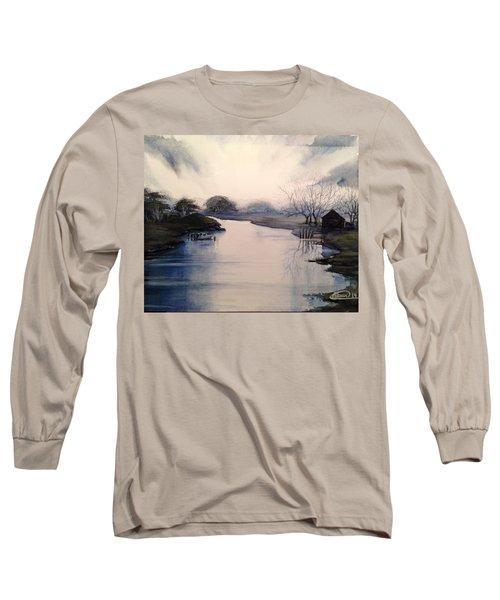 Lake Sunset Long Sleeve T-Shirt