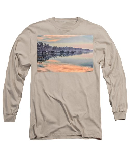 Lake Waccamaw Morning Long Sleeve T-Shirt