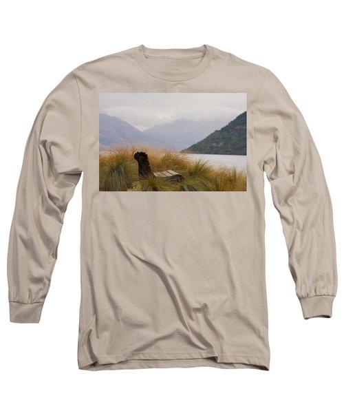 Lake Wakatipu Bench Long Sleeve T-Shirt