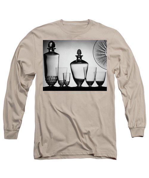 Lalique Glassware Long Sleeve T-Shirt