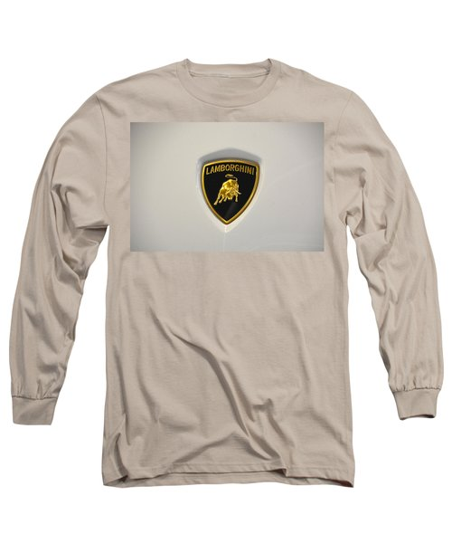 Lamborghini Badge Long Sleeve T-Shirt