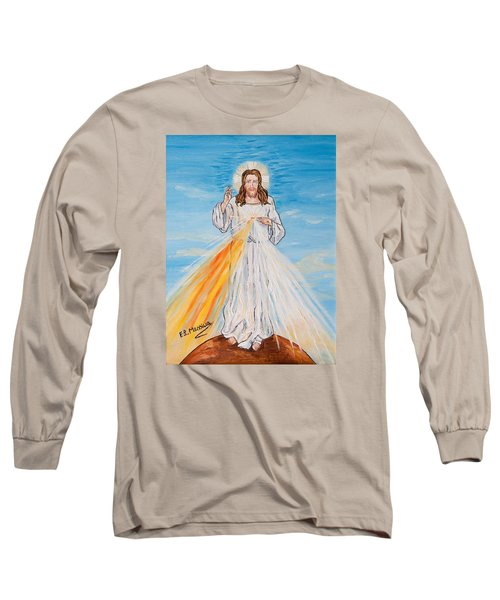 Long Sleeve T-Shirt featuring the painting L'amore by Loredana Messina