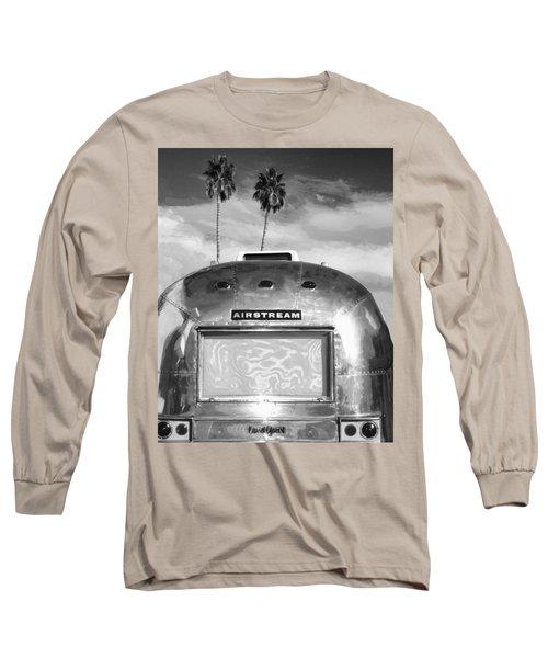Land Yacht Bw Palm Springs Long Sleeve T-Shirt