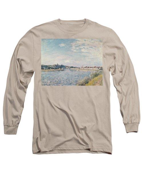 Landscape, 1888 Oil On Canvas Long Sleeve T-Shirt