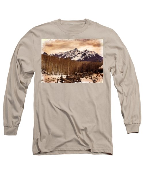 Last Dollar Road Winter Long Sleeve T-Shirt