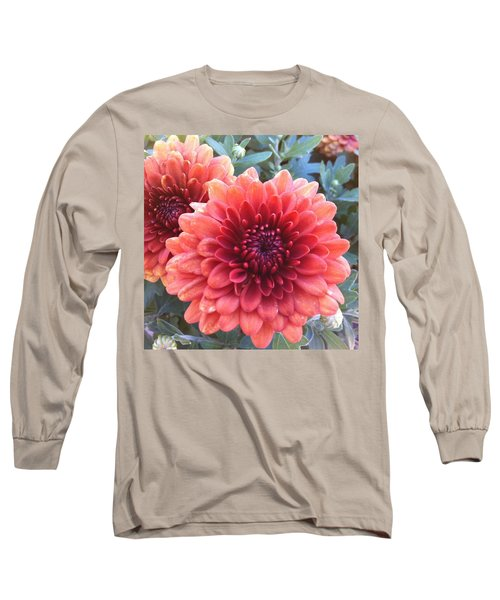 Long Sleeve T-Shirt featuring the photograph Last Of The Summer by Denyse Duhaime