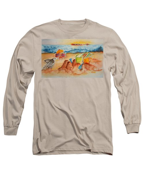 Late Afternoon Beach Long Sleeve T-Shirt