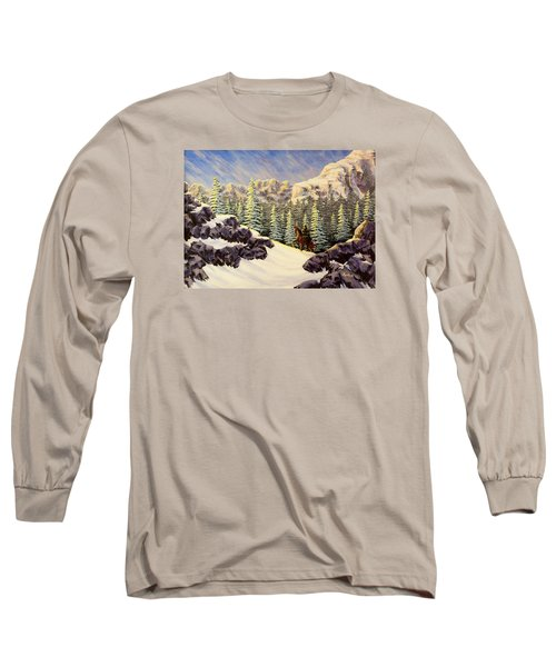 Late Crossing Long Sleeve T-Shirt by Jack Malloch