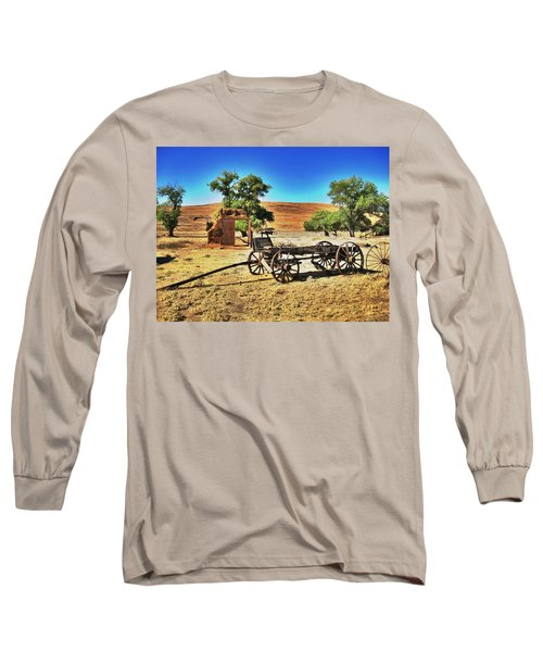 Late For Market Long Sleeve T-Shirt