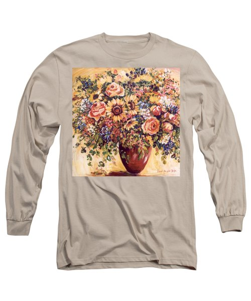 Late Summer Bouquet Long Sleeve T-Shirt by Alexandra Maria Ethlyn Cheshire