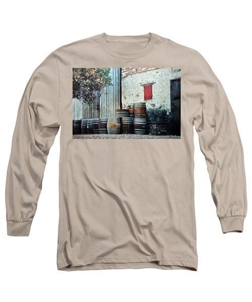 Long Sleeve T-Shirt featuring the photograph Lazy Afternoon At The Winery by Diane Alexander