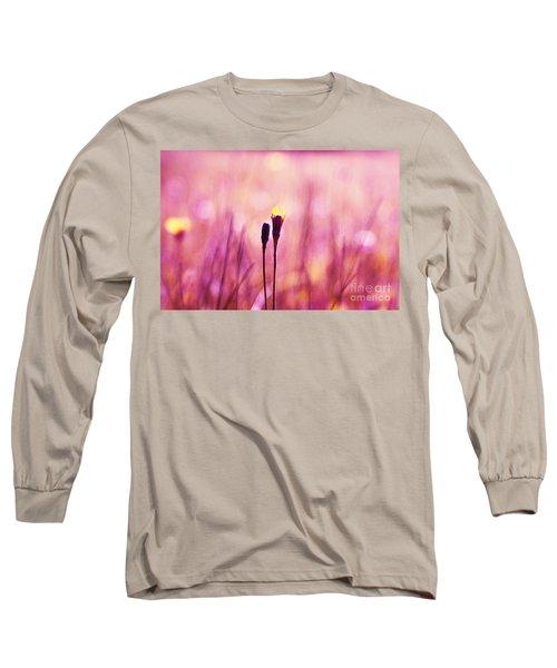 Le Centre De L Attention - Pink S0301 Long Sleeve T-Shirt
