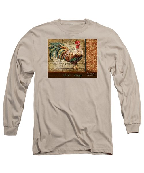 Le Coq-g Long Sleeve T-Shirt by Jean Plout