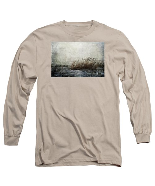 Leaning Straws Long Sleeve T-Shirt by Randi Grace Nilsberg