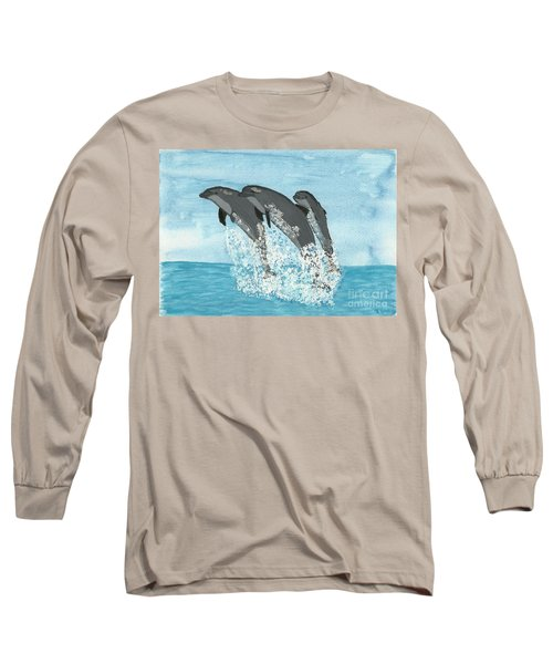 Leaping Dolphins Long Sleeve T-Shirt